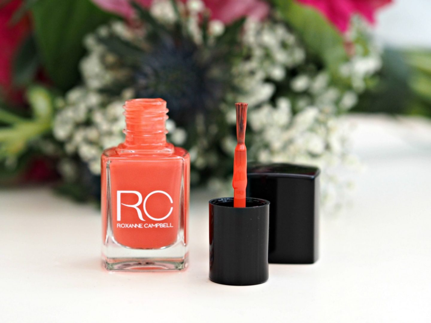 Roxanne Campbell Luxury Nail Lacquer in Off to Jamaica
