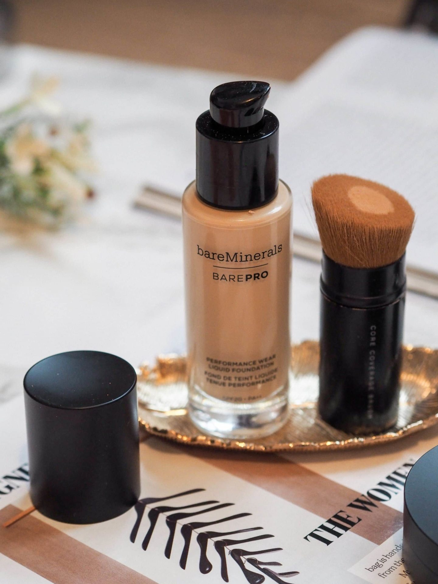 Bsreminerals bare pro liquid foundation